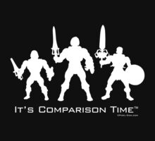 """It's Comparison Time"" - Barbarian  Baby Tee"