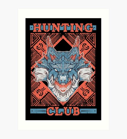 Hunting Club: Lagiacrus Art Print