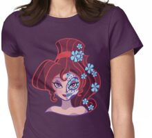 Sugar Skull Series: Little Nutmeg Womens Fitted T-Shirt