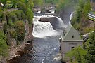 Ausable river waterfalls II by PhotosByHealy