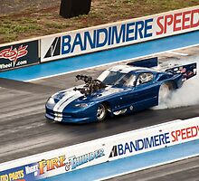 Dodge Viper at Bandimere Speedway by Per Hansen