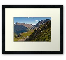 An Elk Mountain Range View of the Maroon Bells Framed Print