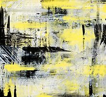 Urban Abstract Art Painting by Christina Rollo