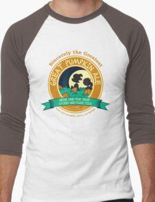 Great Pumpkin Ale Linus and Lucy Men's Baseball ¾ T-Shirt