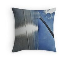 Stainless Monument Throw Pillow