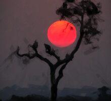 Tree Shadow by Asaha