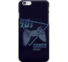 90s gamer forever iPhone Case/Skin