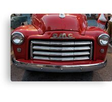 Shiny Red Truck Canvas Print