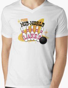 Nothing But Strikes Mens V-Neck T-Shirt