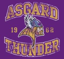 Asgard Thunder Football Athletic Tee by Bamboota