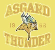Asgard Thunder Football Athletic Tee Kids Clothes