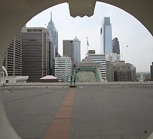 Philadelphia Through A Looking Glass by modernmana