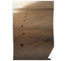 Trailing Behind Poster