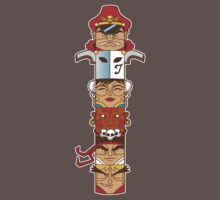 Street Fighter 2 Totem One Piece - Short Sleeve