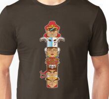 Street Fighter 2 Totem Unisex T-Shirt