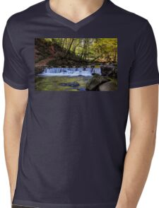 Small Steps In Tollymore Mens V-Neck T-Shirt