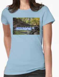 Small Steps In Tollymore Womens Fitted T-Shirt