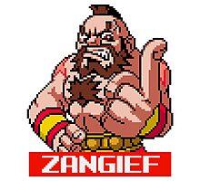 Zangief - Street Fighter Sprite Photographic Print