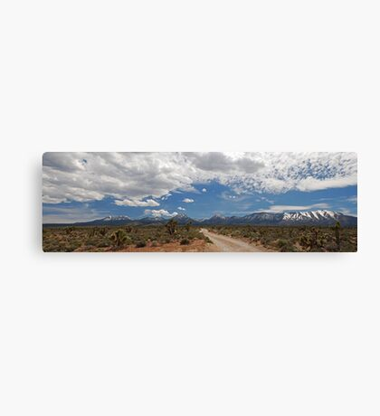Roadside view Canvas Print