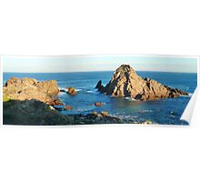 Full sun on East Face of Sugarloaf Rock, Dunsborough W.A. Poster
