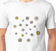 Doodled Daisies Unisex T-Shirt