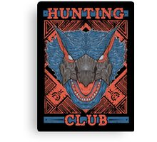 Hunting Club: Nargacuga Canvas Print