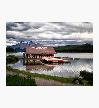 Maligne Lake Photographic Print
