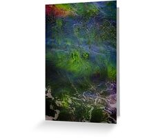 Sea Grass Abstract Greeting Card