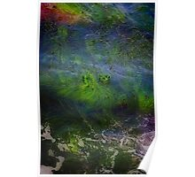 Sea Grass Abstract Poster