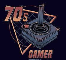 70s gamer forever by Typhoonic