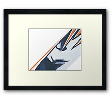 Eyes to the Skye (rework) Framed Print