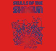 80's Arcade Skulls of the Shogun One Piece - Short Sleeve