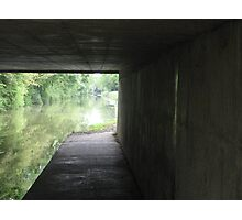 Light at the end of the tunnel (June 2011) Photographic Print