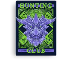 Hunting Club: Brachydios Canvas Print