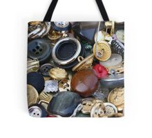 old buttons collection Tote Bag