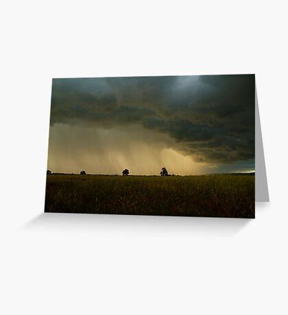 Thunder and Rain Greeting Card
