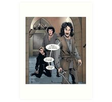 Inigo Montoya, The Princess Bride Art Print