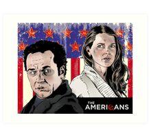 The Americans Art Print