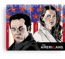 The Americans Canvas Print