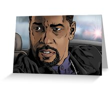 Denzel, Training Day Greeting Card