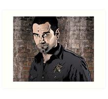 Sheriff Lucas Hood, Banshee Art Print
