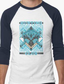 Hunting Club: Azure Rathalos Men's Baseball ¾ T-Shirt