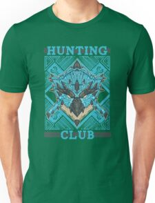 Hunting Club: Azure Rathalos Unisex T-Shirt