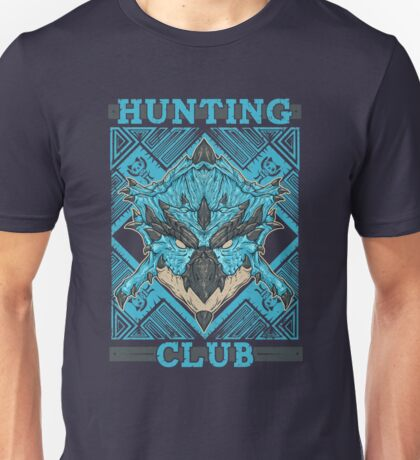 Hunting Club: Azure Rathalos Unisex T-Shirt
