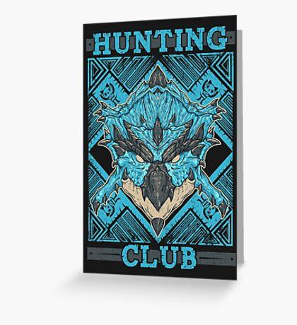 Hunting Club: Azure Rathalos Greeting Card