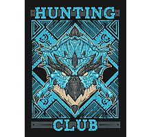 Hunting Club: Azure Rathalos Photographic Print