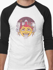 The Land of Headarea Men's Baseball ¾ T-Shirt