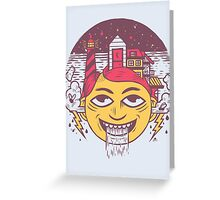 The Land of Headarea Greeting Card