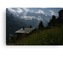 Across the Mountains Canvas Print
