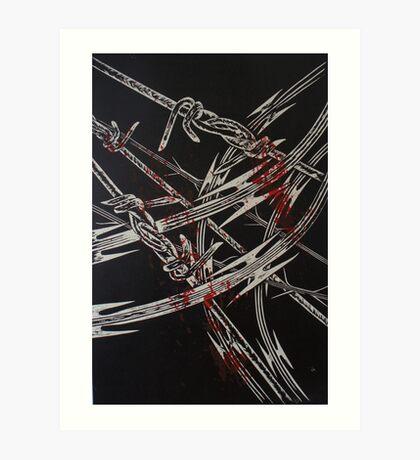 'Detention' series 2 - 3 Art Print